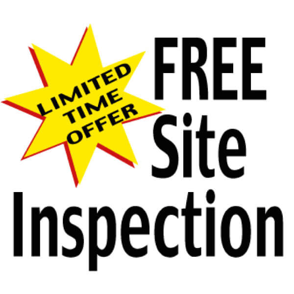 Free Site Inspection