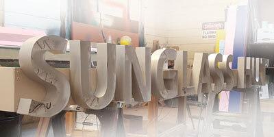 Channel Letters - Sunglass Hut