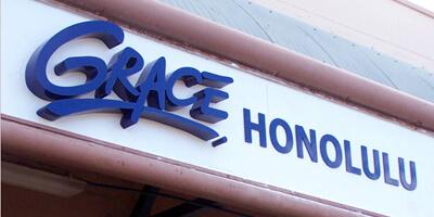 Dimentional Letters- Grace Honolulu