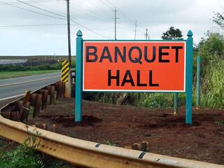 Panel Signs