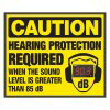 Caution Hearing Protection Required