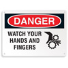 Danger Hands and Fingers