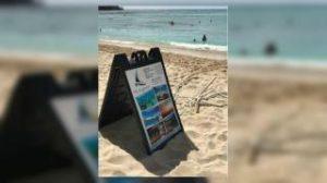 Waikiki Beach catamaran