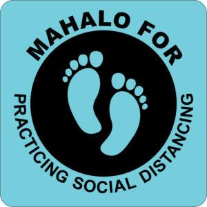 Mahalo Social Distancing
