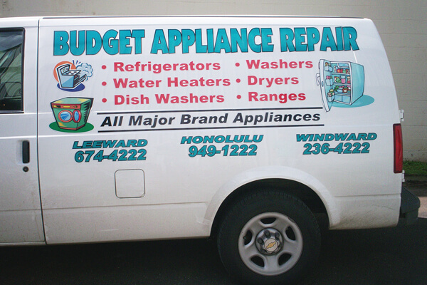 Partial Vehicle Graphic Advertising Wrap