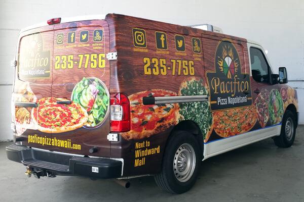 Full Vehicle Graphic Advertising Wrap