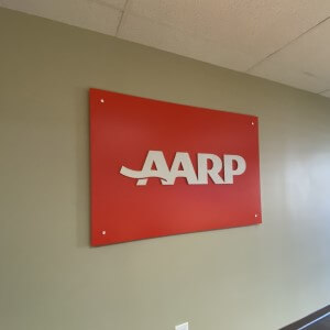 Interior Reception Sign